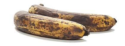 Brune bananer