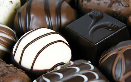 Forskjellen på hvit og brun sjokolade?