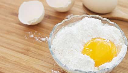 Hvor mye veier et egg?