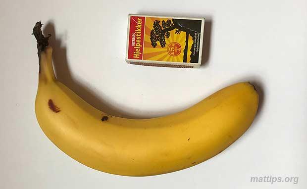 Hvor mye veier en banan?
