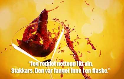Sitater om vin